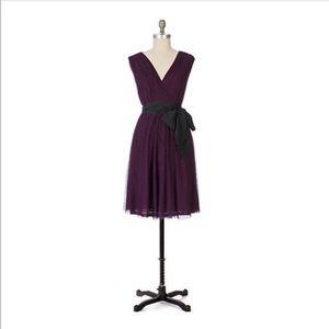 Anthro Moulinette Soeurs Tickled Plum Cute Dress